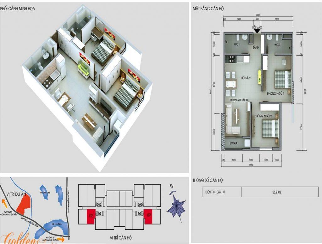 Tòa C chung cư vinaconex 2- Căn 2 và 9
