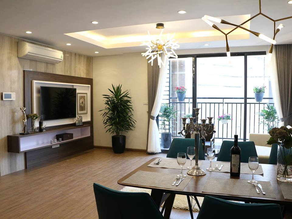 Không gian bếp ăn sang trọng HongKong Tower