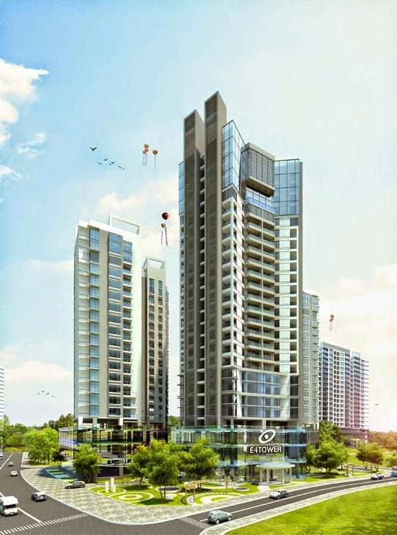 Chung cư E4 Tower Yên Hòa - Phối Cảnh tổng thể