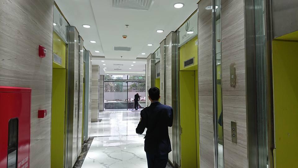Sảnh sang trọng chung cư hongkong tower