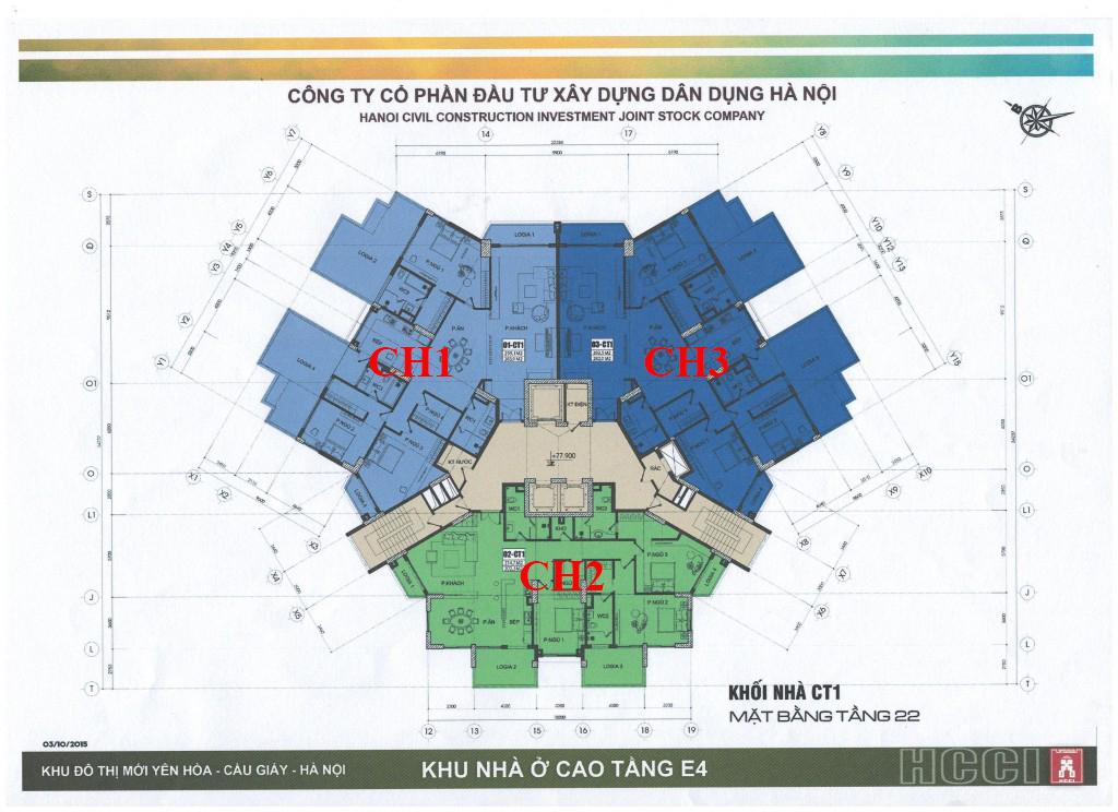 Chung-cư-park-view-city-yên-hòa-CT1-mặt-bằng-tầng-22