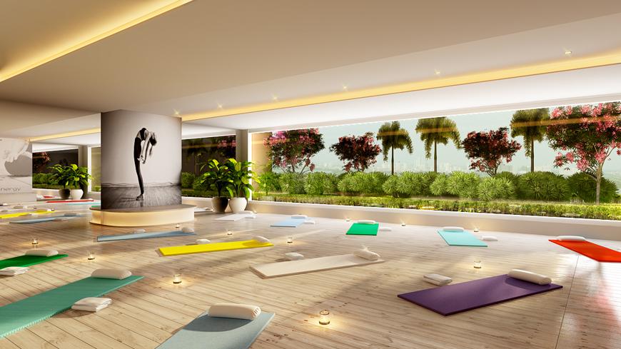 sunshine center Phạm Hùng - tập yoga