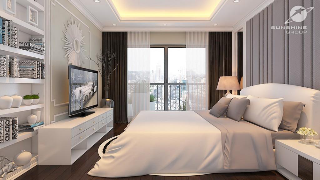 sunshine center Phạm Hùng - thiết kế ngủ