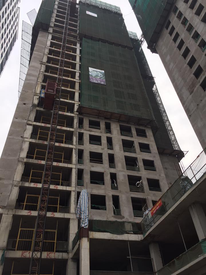 Tiến độ chung cư HongKong Tower