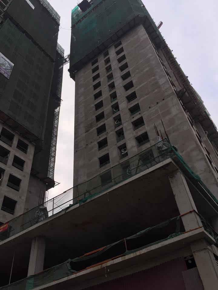 Tiến độ HongKong Tower