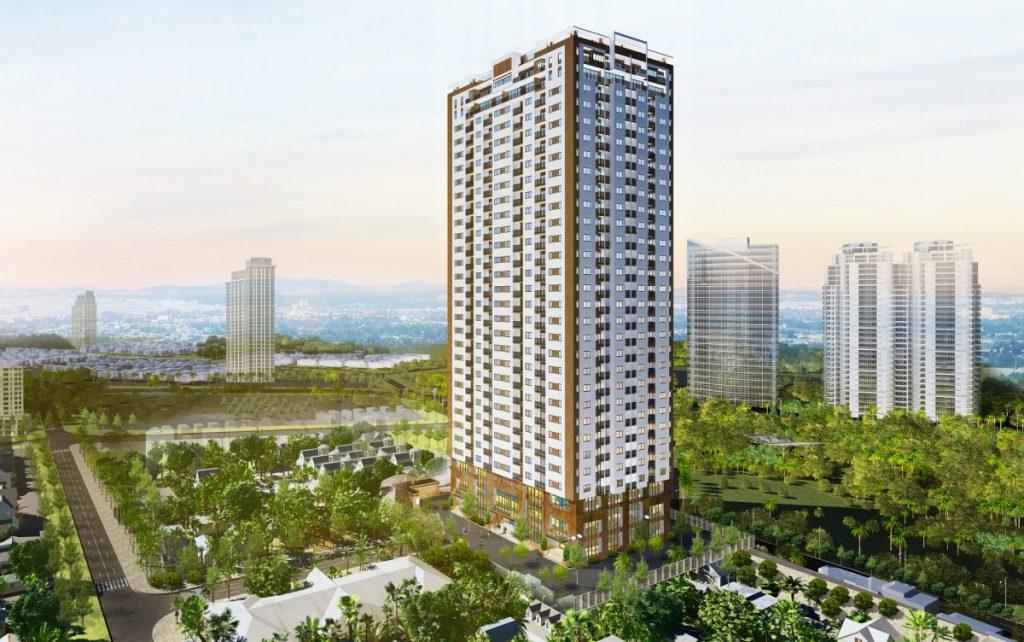 Phối cảnh dự án chung cư Startup Tower Đại Mỗ