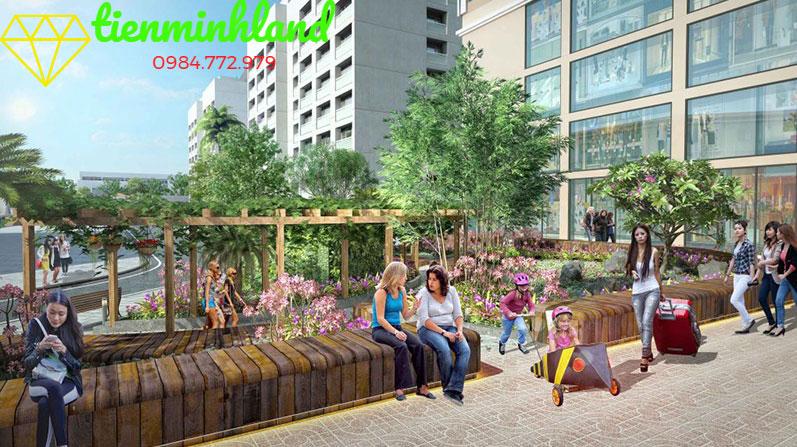 Vườn rạo bộ Mỹ Đình plaza 2