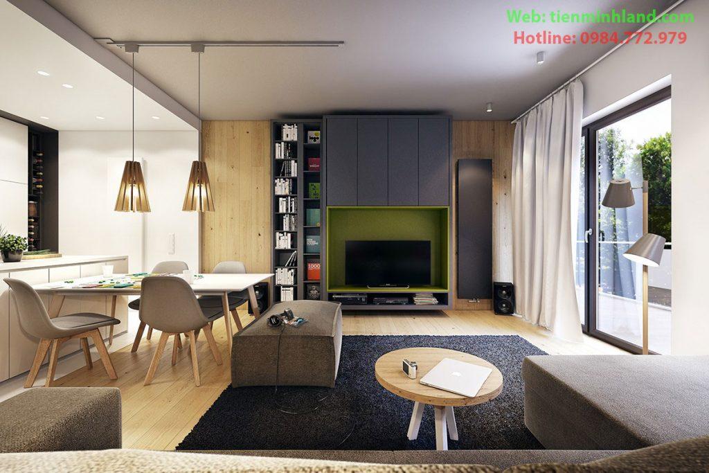 Thiết kế căn hộ chung cư Florence Mỹ Đình