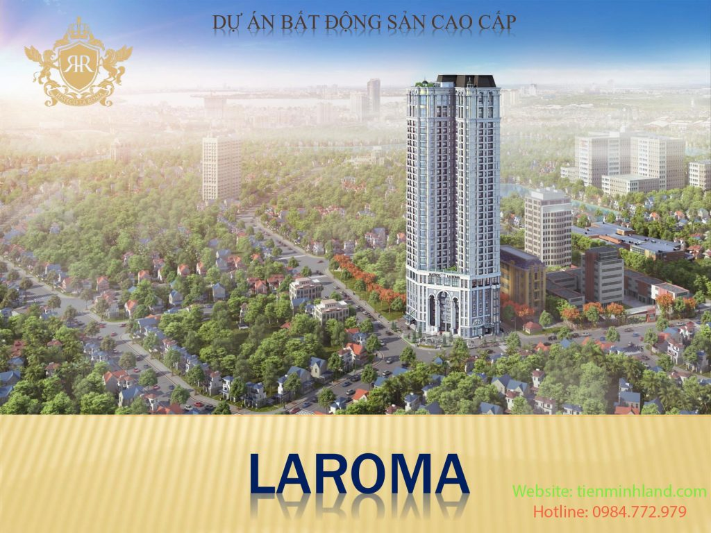 Phối cảnh dự án Hateco Laroma