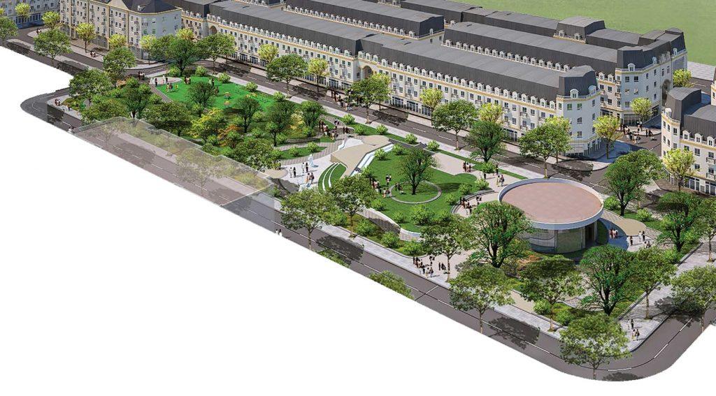 Công viên trung tâm La Casta Văn Phú