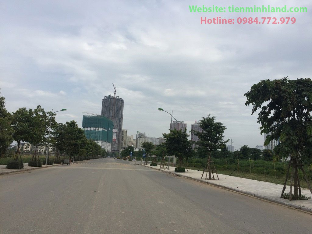 Đường nội bộ Biệt thự An Vượng Nam Cường