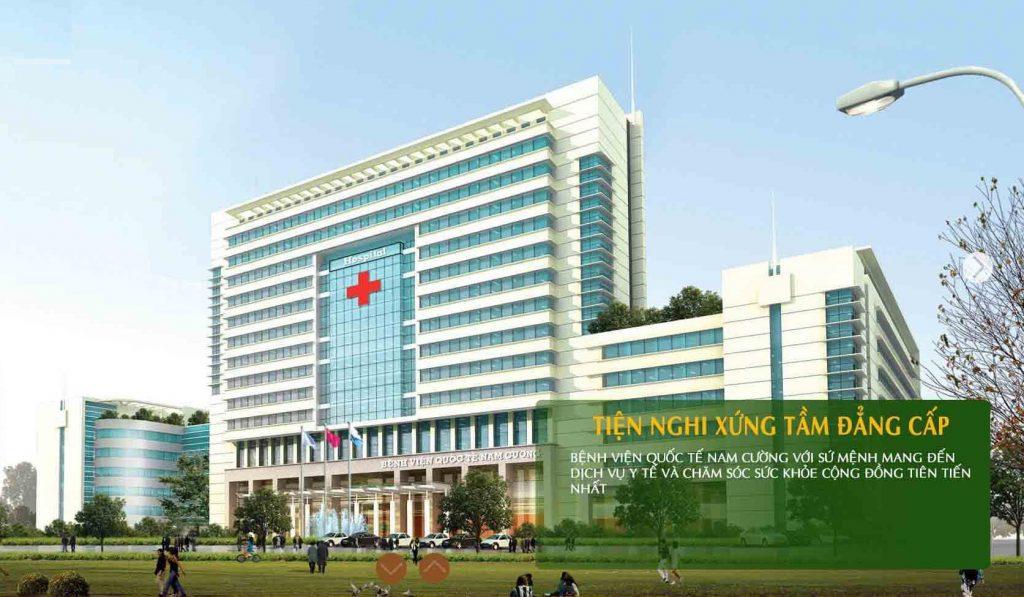 bệnh viện quốc tế khu biệt thự an vượng nam cường