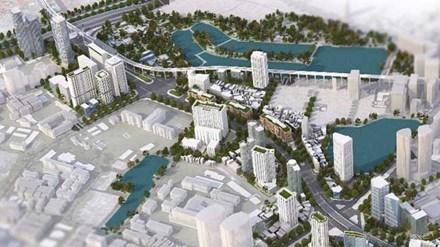Đường Voi Phục - Thái Hà dự án HongKong Tower
