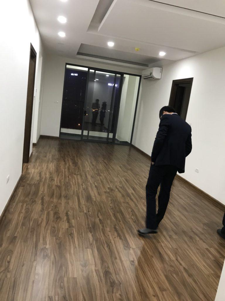 Phòng khách căn 2PN Vinata Tower