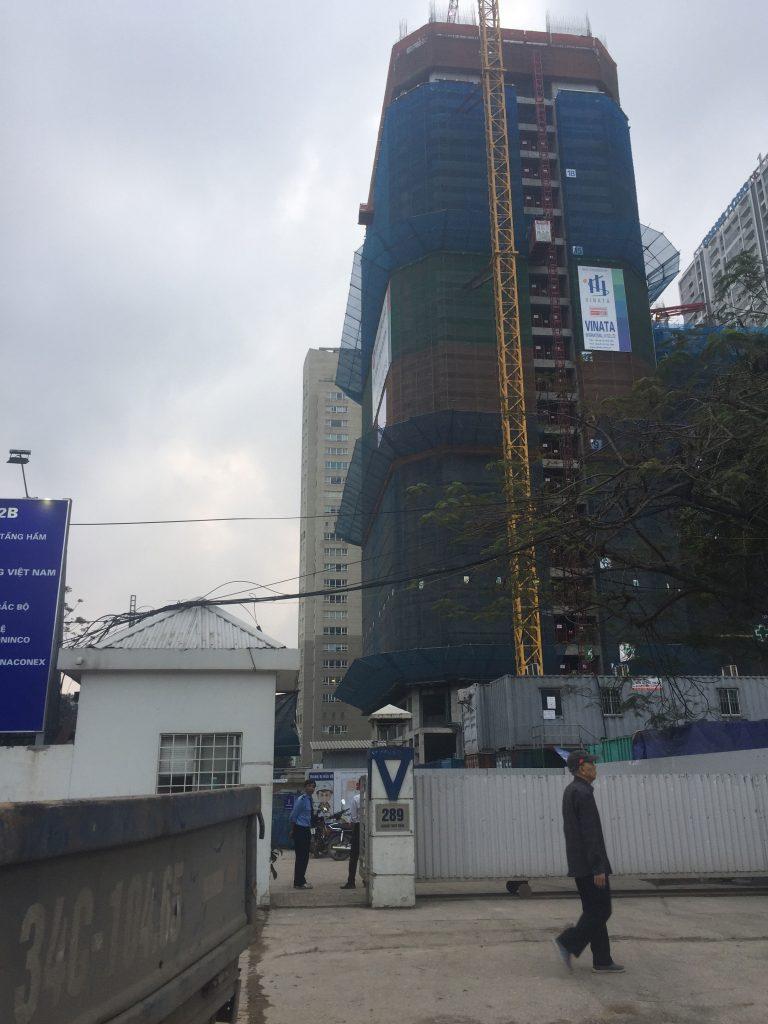 Tiến độ xây dựng tòa 2A vinata tower