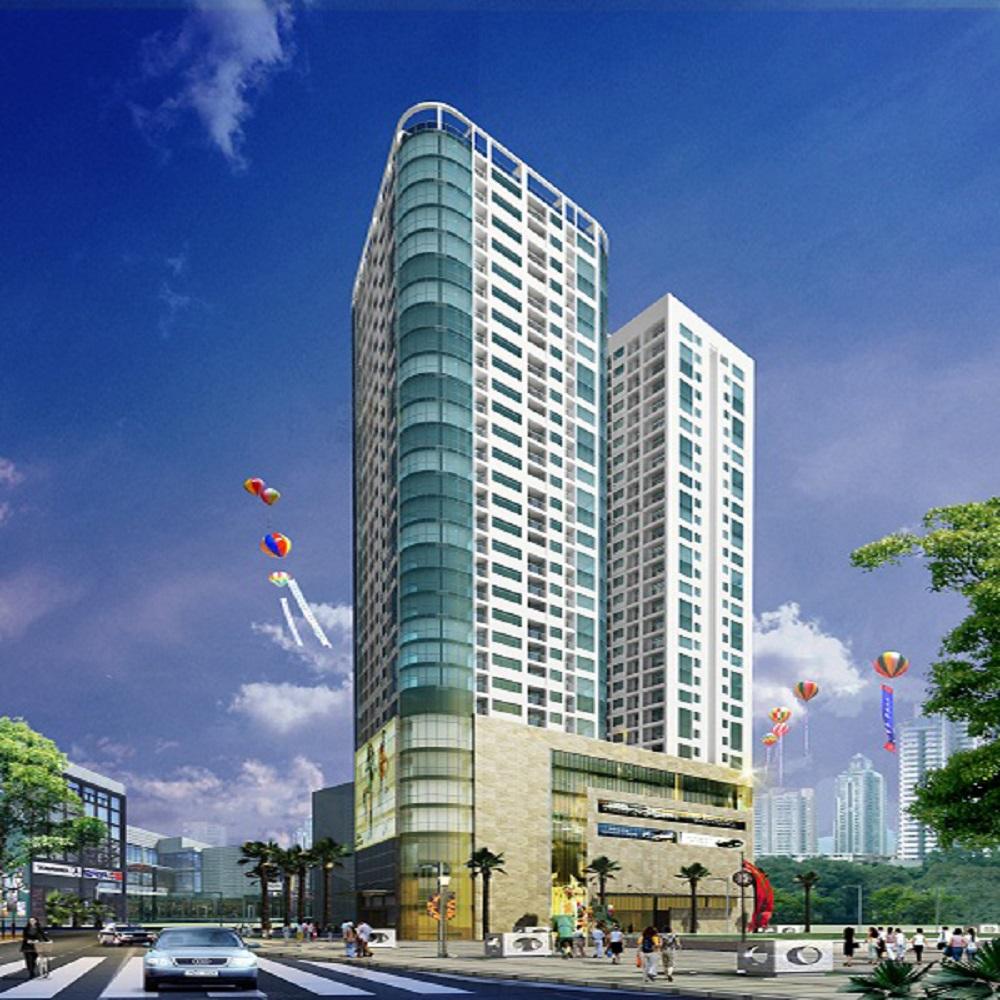 Phối cảnh dự án chung cư Thành An 21 Lê Văn Lương
