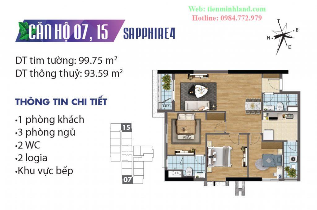 CH7,CH15 Sapphire 4 Goldmark City