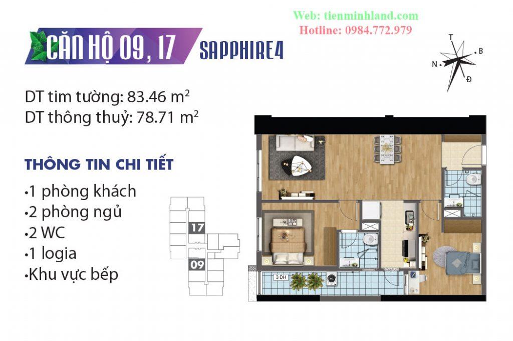 CH9,CH17 Sapphire 4 Goldmark City