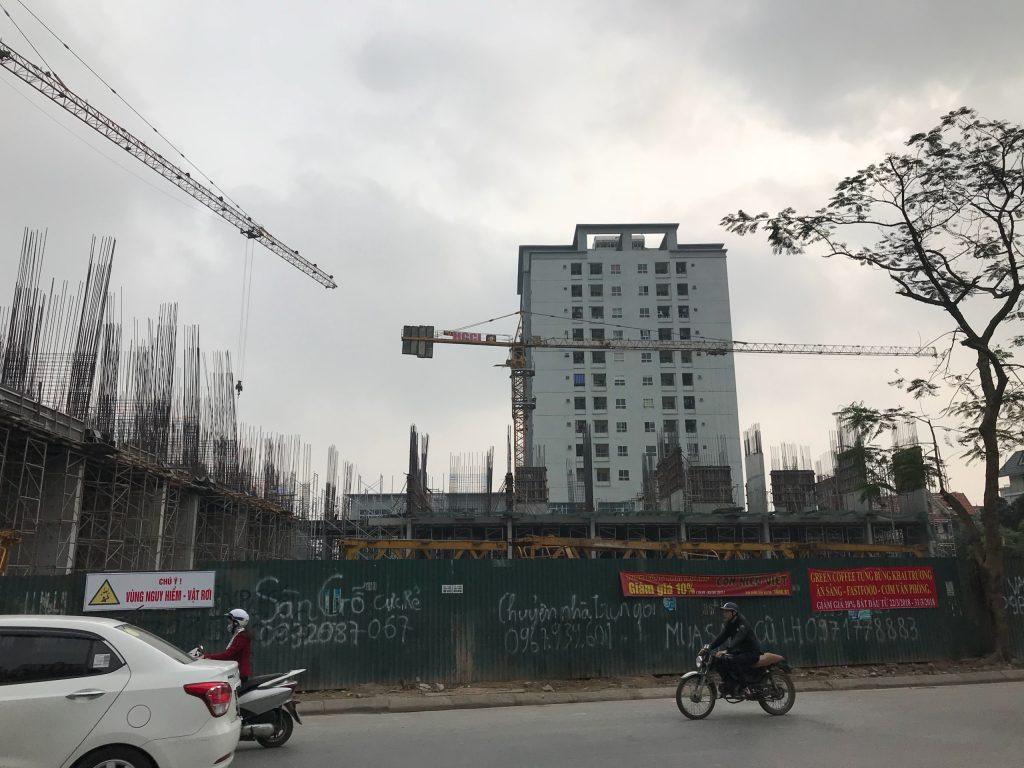 Tiến độ xây dựng E2 Yên Hòa