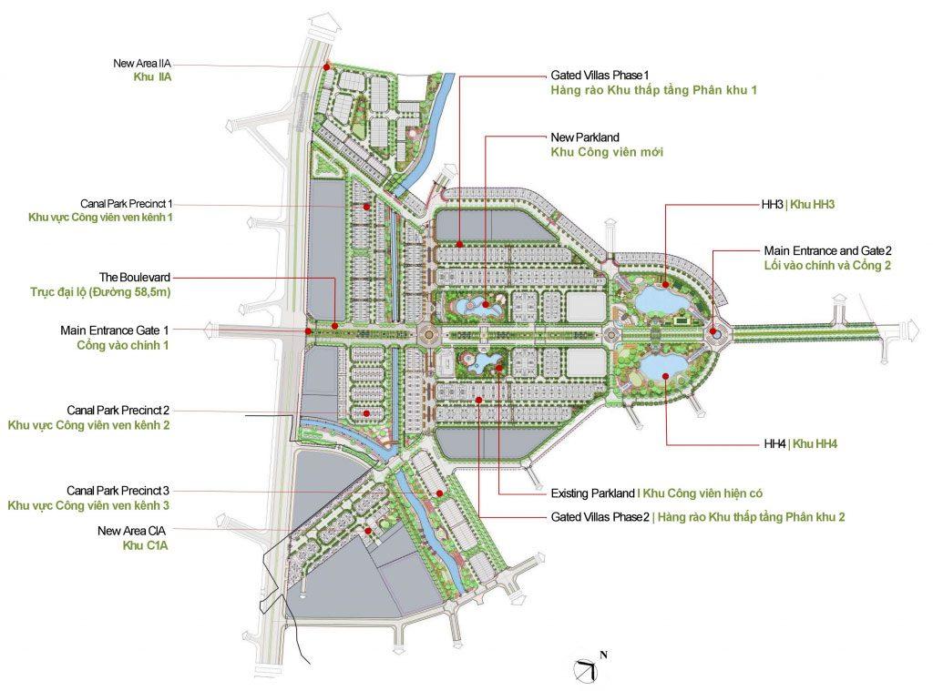 Mặt bằng thiết kế Dự án An Lạc Green Symphony Vân Canh