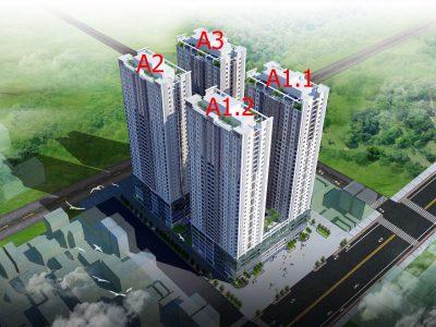 Nhà ở xã hội THT new city Lai Xá