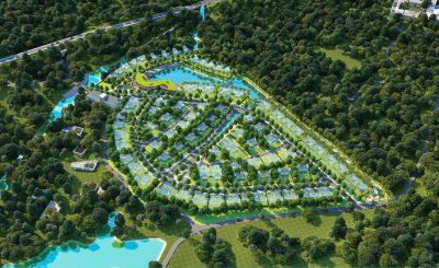 khu biệt thự nhà vườn sinh thái Yên Bình